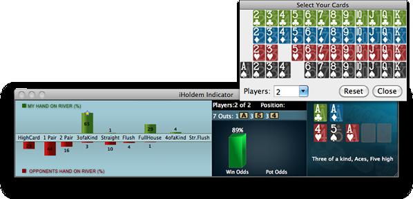 Calcolatore Poker manuale