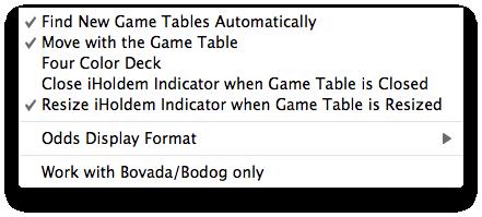 Poker Options Calculator